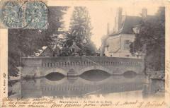 Maintenon Le Pont De La Ferte  (dos non divisé) - Maintenon