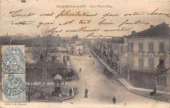 Villeneuve Sur Lot Cours Victor Hugo (dos non divisé) - Cours