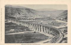 Bedarieux Le Grand Viaduc (dos non divisé) - Bédarieux