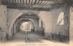 Villefranche Sur Mer Rue Obscure - Villefranche-sur-Mer
