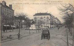 Chalon Sur Saone Monument Defense Rue D'Autun Et Bd - Autun