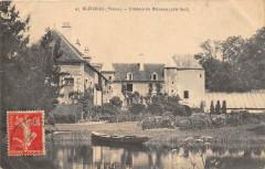 Bleneau Chateau De Bleneau Cote Sud - Bléneau