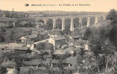 Bellac Le Viaduc Et Les Tanneries - Bellac