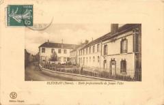 Bleneau Chateau De Bleneau Cote Sudecole Professionnelle De Jeunes Filles - Bléneau