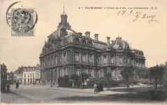 L'Hôtel de Ville, vue d'ensemble - Tourcoing