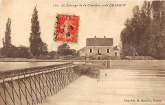 Le Barrage De La Graviere Pres Charmoy - Charmoy