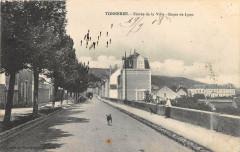 Tonnerre Entree De La Ville Route De Lyon - Tonnerre