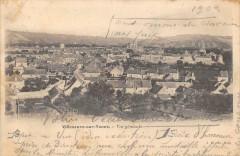 Villeneuve Sur Yonne Vue Generale (dos non divisé) - Villeneuve-sur-Yonne