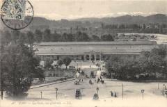 Pau La Gare Vue Generale - Pau