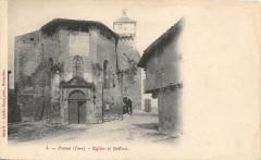 Penne Eglise Et Beffroi (dos non divisé) - Penne