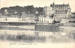 Amboise Le Chateau Et Quai - Amboise