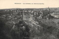 Bozouls Le Chateau Au Bord Du Gouffre (frais de port offert - Bozouls