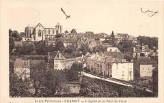 Gramat L'Eglise Et Pont St Felix - Gramat