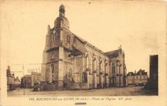 Place de l'Eglise - Rochefort-sur-Loire