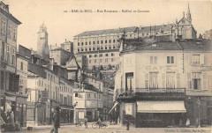 Rue Rousseau - Beffroi et Couvent - Bar-le-Duc