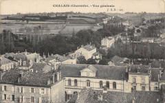 Chalais Vue Generale - Chalais