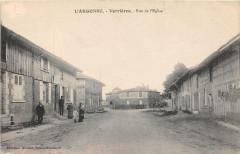 Verrieres Rue De L'Eglise - Verrières