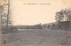 Chenonceaux Pont Sur Le Cher (dos non divisé) - Chenonceaux
