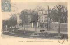 95 Ablon Emplacement De L'Ancien Couvent Des Celestins  (dos non divisé) 94 Val de Marne