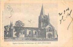 Eglise D'Aulnay De Saintonge (dos non divisé) - Aulnay