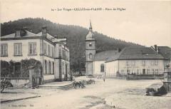 Celles Sur Plaine Place De L'Eglise - Celles-sur-Plaine