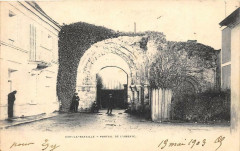 Ivry La Bataille Portail De L'Abbaye (dos non divisé) - Ivry-la-Bataille