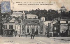Dreux Vue D'Ensemble Prise Place Mezirard - Dreux