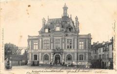 Arcueil Cachan Place De La Republique (dos non divisé) 94 Arcueil