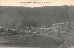 Montherme L'Enveloppe Et La Meuse - Monthermé