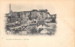 Les Ruines De Rochecorbon (dos non divisé) - Rochecorbon