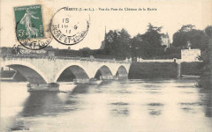 Veretz Vue Du Pont Du Chateau De La Mairie - Véretz