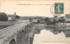 La Haye Descartes Le Pont Entree De La Ville - Descartes