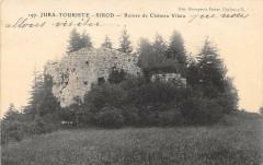 Jura Sirod Ruines De Chateau Vilain - Sirod