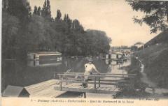 Poissy Embarcadere Quai Du Boulevard De La Seine - Poissy