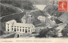 Barrage du Cher près Montluçon - Barrage, usine et bâtiments ouvriers - Teillet-Argenty