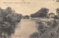 Ebreuil La Sioule Le Pont Et La Jetee - Ébreuil