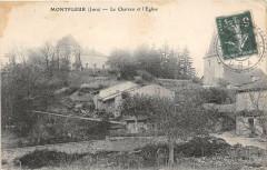 Montfleur Le Chateau Et Eglise - Montfleur