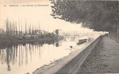 Chinon La Vienne La Promenade (dos non divisé) - Chinon