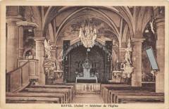 Bayel Interieur De L'Eglise - Bayel