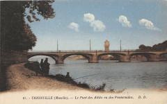Thionville Le Pont Des Allies Vu Des Promenades - Thionville