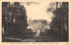 Jussy Champagne Chateau De Jussy - Jussy-Champagne