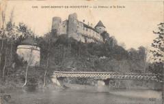 Saint Bonnet De Rochefort Le Chateau Et La Siuole - Saint-Bonnet-de-Rochefort