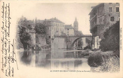 Le Pont De Beauvoisin  (dos non divisé) - Le Pont-de-Beauvoisin