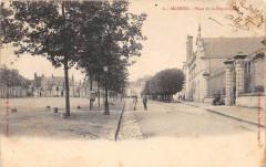 Mamers Place De La Republique (dos non divisé) - Mamers