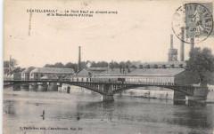 Chatellerault Le Pont Neuf En Ciment Arme Et Manufacture D'Armes - Châtellerault