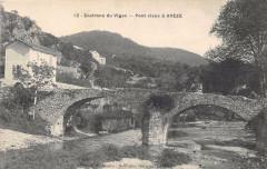 Environs Vigan Pont Vieux A Aveze - Avèze