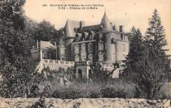 Env.chateau Du Loir Flee Chateau De La Motte - Flée