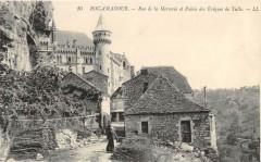 Rocamadour Rue De La Mercerie Palais De Eveques De Tulle - Rocamadour