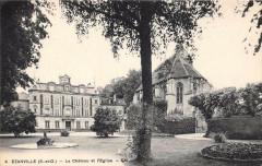 Ezanville Le Chateau Et L´EGLISE - Ézanville