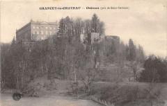 Grancey Le Chateau Chateau Vue Prise DeSaint-Germain - Ancey